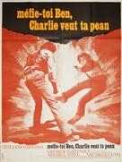 Amico, stammi lontano almeno un palmo - French Movie Poster (xs thumbnail)