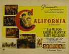 California - Movie Poster (xs thumbnail)