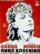 Anna Karenina - Danish Movie Poster (xs thumbnail)