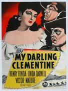 My Darling Clementine - Danish Movie Poster (xs thumbnail)