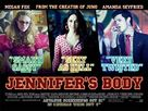 Jennifer's Body - British Movie Poster (xs thumbnail)