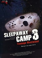 Sleepaway Camp III: Teenage Wasteland - French DVD movie cover (xs thumbnail)