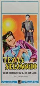 The Fabulous Texan - Italian Movie Poster (xs thumbnail)