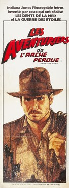 Raiders of the Lost Ark - French Movie Poster (xs thumbnail)