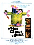 Amici miei - French Movie Poster (xs thumbnail)