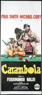 Carambola, filotto... tutti in buca - Italian Movie Poster (xs thumbnail)