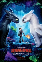 How to Train Your Dragon: The Hidden World - French Movie Poster (xs thumbnail)