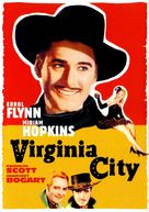 Virginia City - DVD cover (xs thumbnail)
