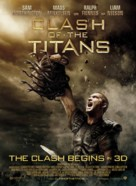 Clash of the Titans - Danish Movie Poster (xs thumbnail)