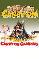 Carry on Camping - DVD cover (xs thumbnail)
