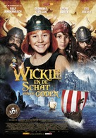 Wickie auf großer Fahrt - Dutch Movie Poster (xs thumbnail)