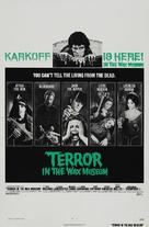 Terror in the Wax Museum - Movie Poster (xs thumbnail)