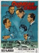 The Caine Mutiny - French Movie Poster (xs thumbnail)