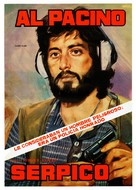 Serpico - Spanish Movie Poster (xs thumbnail)