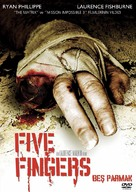 Five Fingers - Turkish Movie Cover (xs thumbnail)