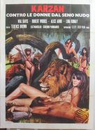 Maciste contre la reine des Amazones - Italian Movie Poster (xs thumbnail)