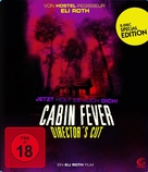 Cabin Fever - German DVD movie cover (xs thumbnail)