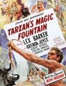 Tarzan's Magic Fountain - British Movie Poster (xs thumbnail)
