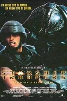 Starship Troopers - Italian Movie Poster (xs thumbnail)