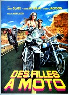 The Mini-Skirt Mob - French Movie Poster (xs thumbnail)