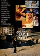 Everyone Says I Love You - German Movie Poster (xs thumbnail)