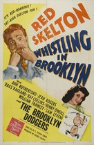 Whistling in Brooklyn - Movie Poster (xs thumbnail)
