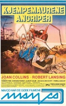 Empire of the Ants - Norwegian VHS movie cover (xs thumbnail)