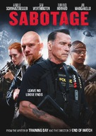 Sabotage - Canadian DVD movie cover (xs thumbnail)