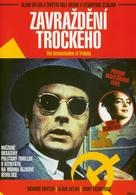 The Assassination of Trotsky - Czech DVD cover (xs thumbnail)
