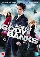 Agent Cody Banks - British DVD movie cover (xs thumbnail)