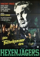 The Haunted Palace - German Movie Poster (xs thumbnail)