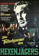The Haunted Palace - German Movie Poster (xs thumbnail)