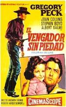 The Bravados - Spanish Movie Poster (xs thumbnail)