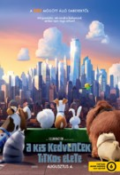 The Secret Life of Pets - Hungarian Movie Poster (xs thumbnail)