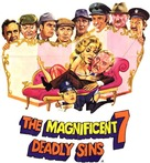 The Magnificent Seven Deadly Sins - Blu-Ray movie cover (xs thumbnail)