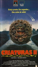 Critters 2: The Main Course - Brazilian VHS movie cover (xs thumbnail)