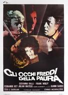 Gli occhi freddi della paura - Italian Movie Poster (xs thumbnail)