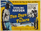 Ten Days to Tulara - British Movie Poster (xs thumbnail)