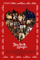 New York, I Love You - Movie Poster (xs thumbnail)