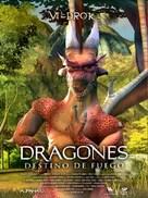 Dragones: destino de fuego - Mexican Movie Poster (xs thumbnail)