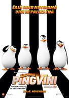 Penguins of Madagascar - Latvian Movie Poster (xs thumbnail)