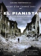 The Pianist - Spanish Movie Poster (xs thumbnail)