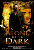 Alone in the Dark - Spanish Movie Poster (xs thumbnail)