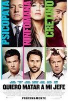 Horrible Bosses - Argentinian Movie Poster (xs thumbnail)