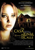 House at the End of the Street - Spanish DVD cover (xs thumbnail)