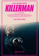 Killerman - German Movie Poster (xs thumbnail)