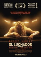 The Wrestler - Spanish Movie Poster (xs thumbnail)