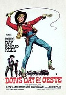 Calamity Jane - Spanish Movie Poster (xs thumbnail)