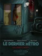 Le dernier métro - Belgian Re-release poster (xs thumbnail)