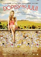 Letters to Juliet - Czech Movie Poster (xs thumbnail)